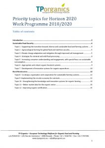 thumbnail of tporganics_input_work_programme_2018_2020_v3